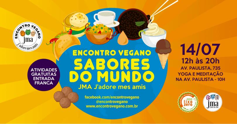 Encontro Vegano Sabores do Mundo