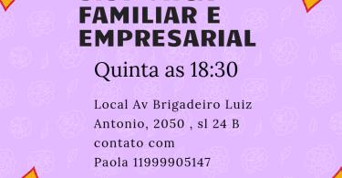Constelação familiar e empresarial com Paola Mingardo.