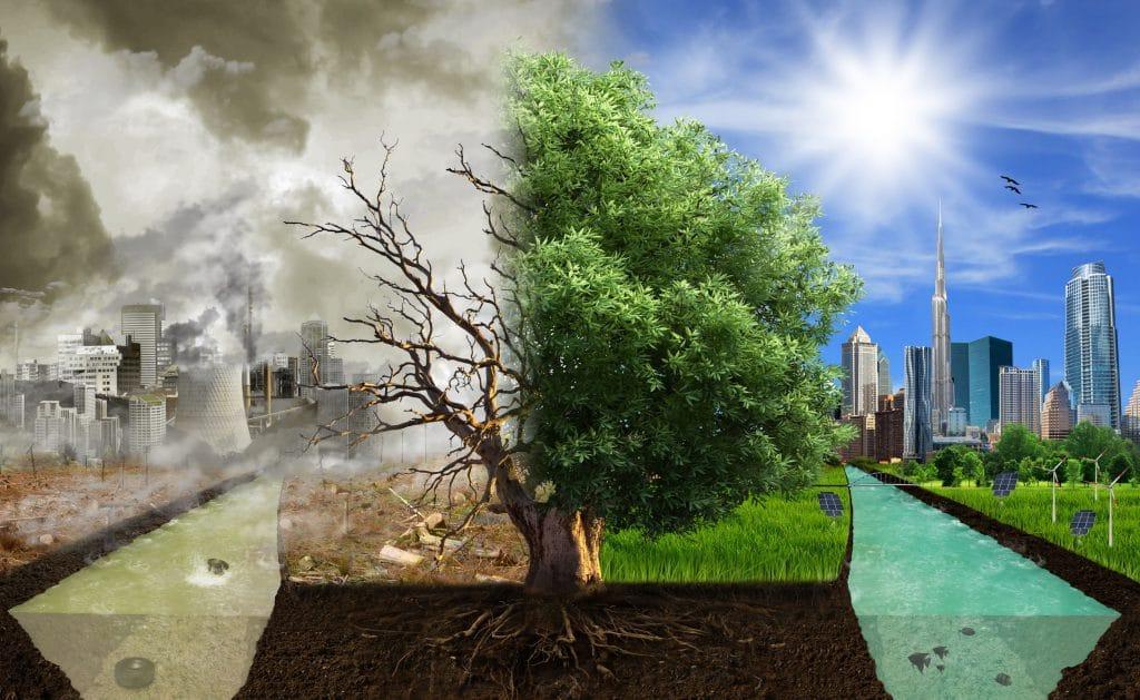 poluição contra a natureza