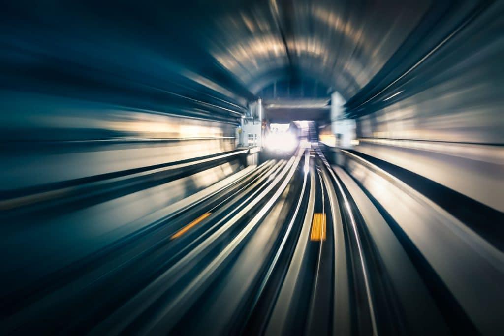 túnel de metrô
