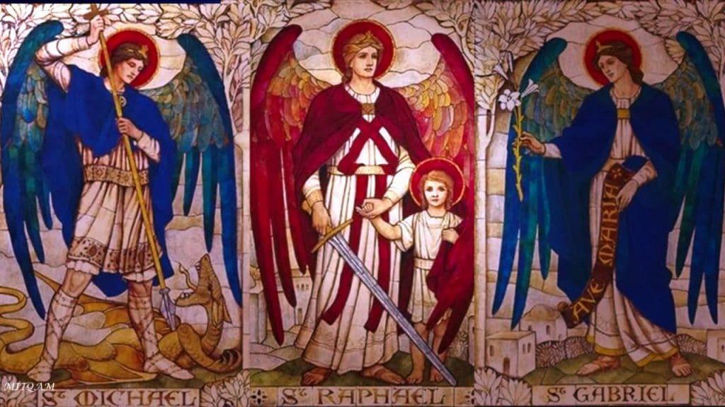 Arcanjos Miguel, Gabriel e Rafael