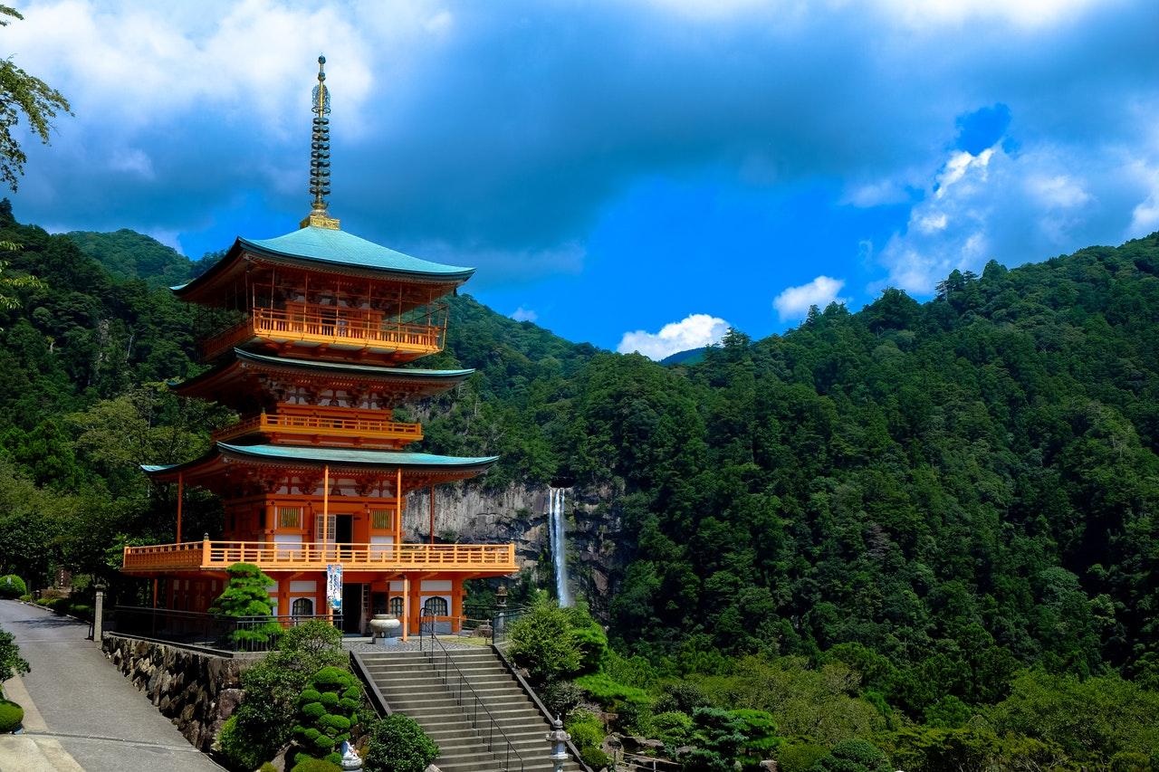 Templo de Shikoku no Japão