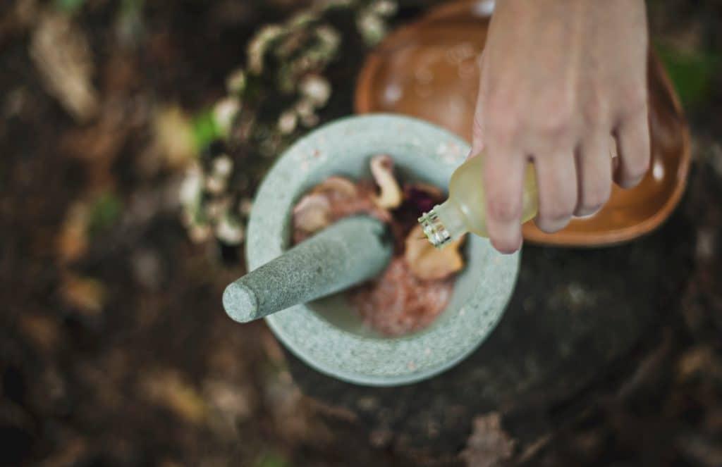 Aromaterapia.