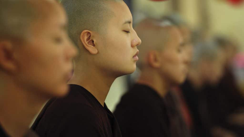 Monge budista.