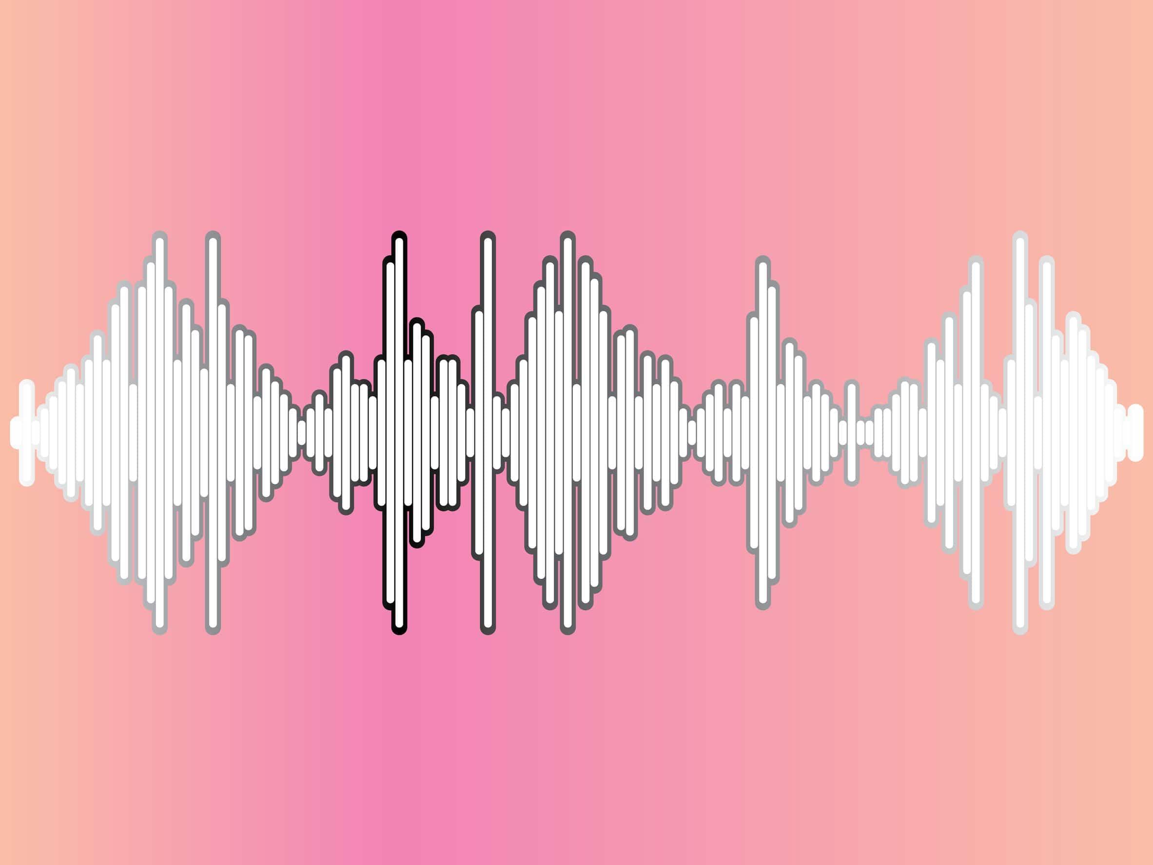 Ilustração de frequência Hertz.