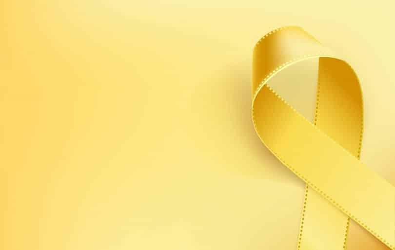 Fita amarela representando o Setembro Amarelo