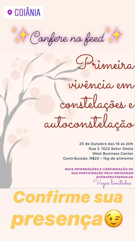 Banner com informações do evento