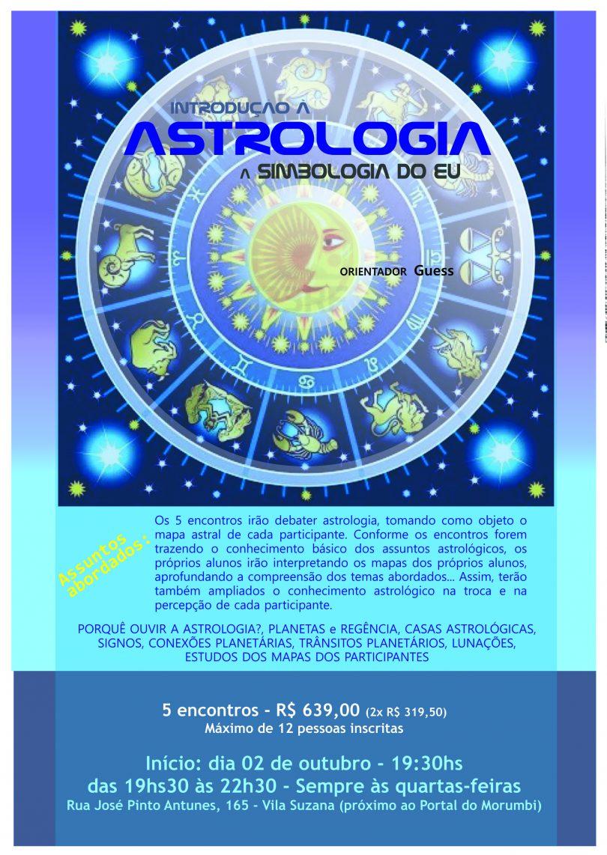 Banner com informações do curso Introdução a Astrologia- A Simbologia do EU