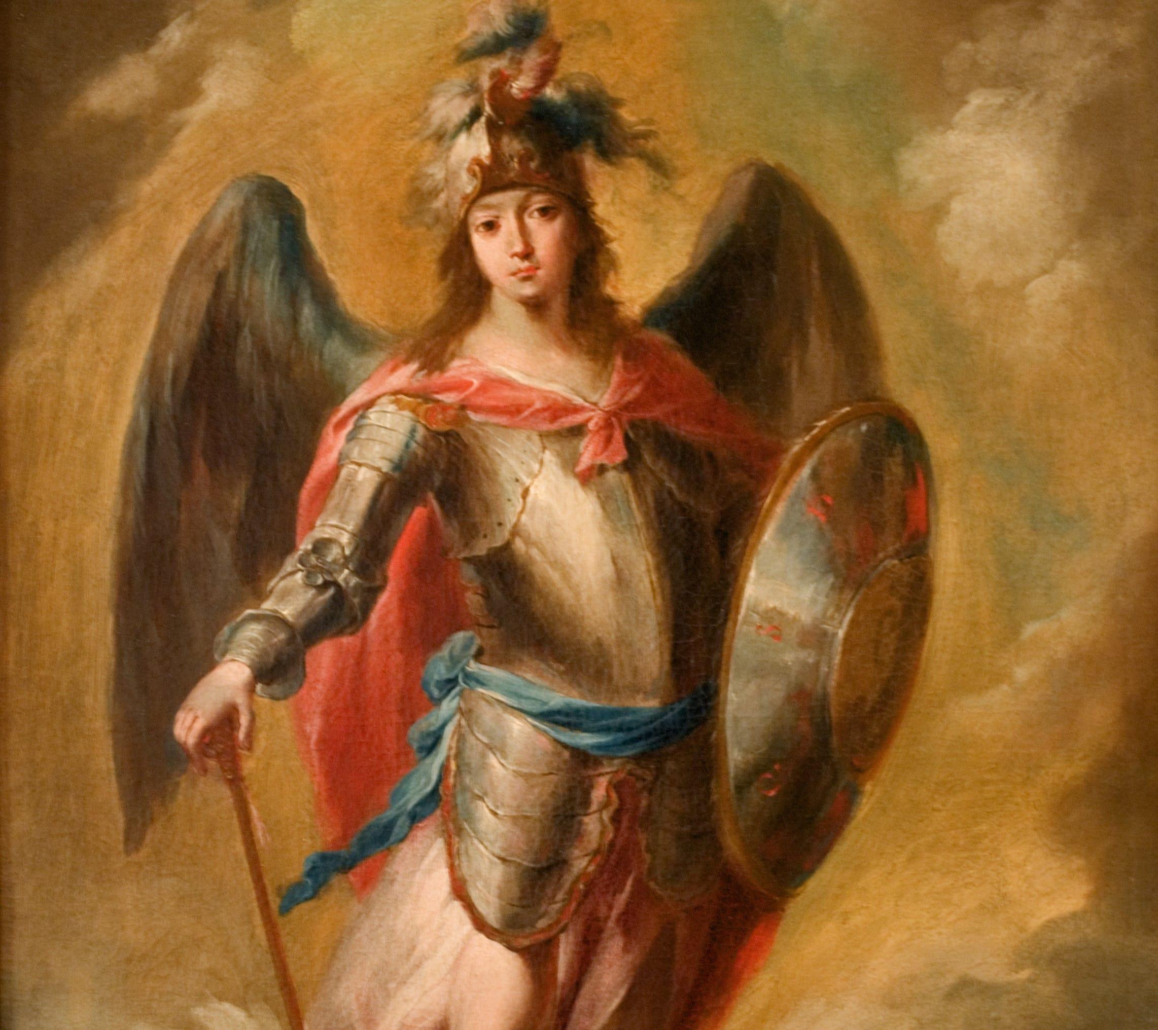 Pintura de São Miguel Arcanjo