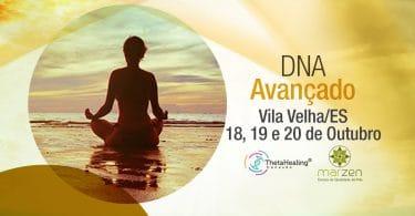 Banner com informações do curso Curso Thetahealing DNA Avançado em Vila Velha/ES