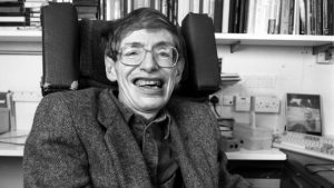 Fotografia de Stephen Hawking.