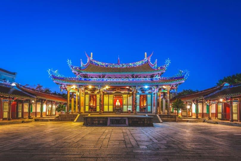 Templo de Confúcio.