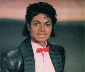 Fotografia de Michael Jackson.