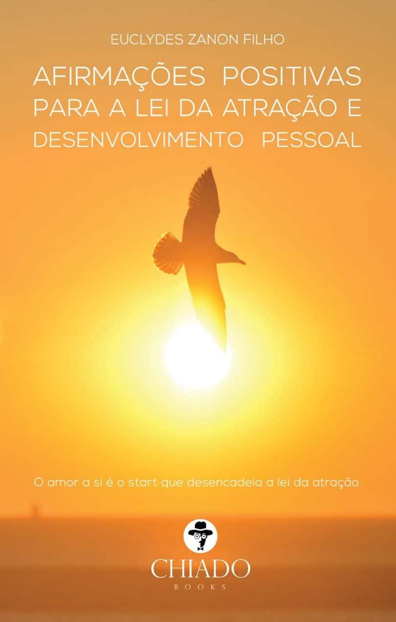 Capa do livro: Afirmações positivas para a lei da atração e desenvolvimento pessoal