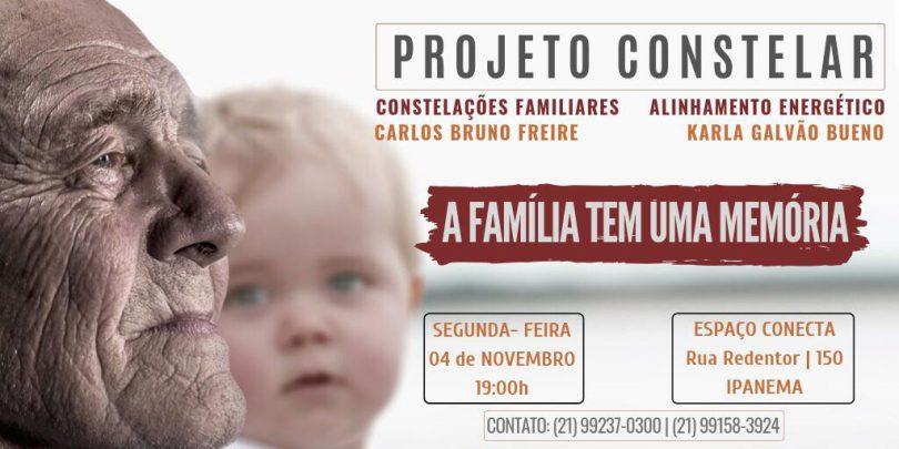Flyer Projeto Constelar