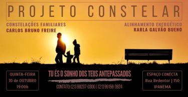 Flyer evento Constelação