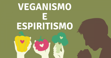 Ilustração Veganismo e Espiritismo