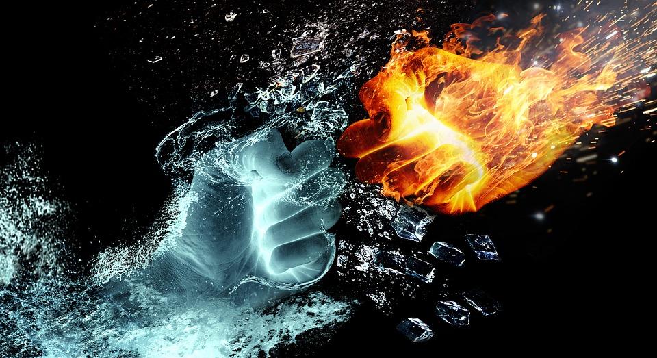 Água e fogo