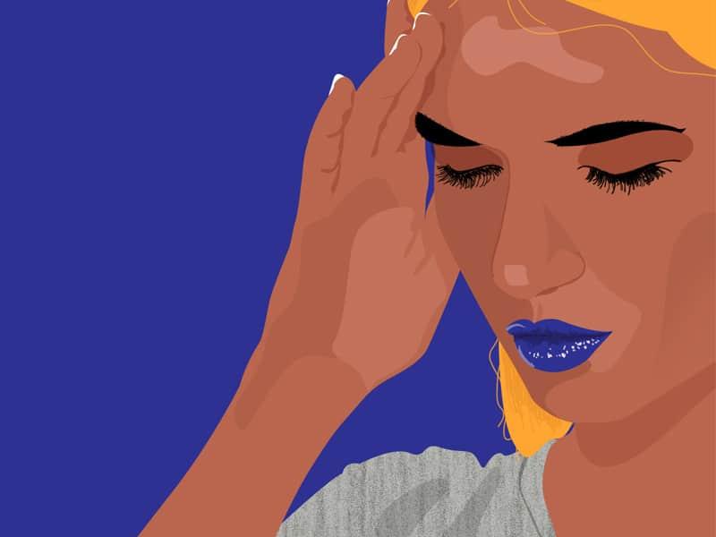 dor de cabeça constante