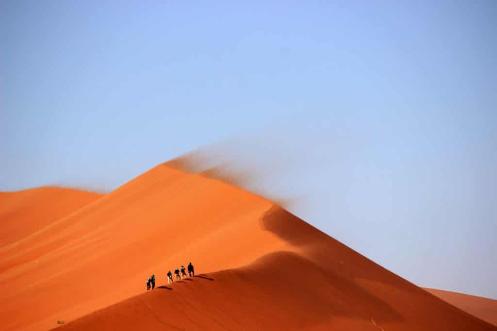 Montanha no deserto