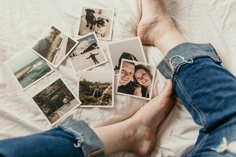fotos e memórias