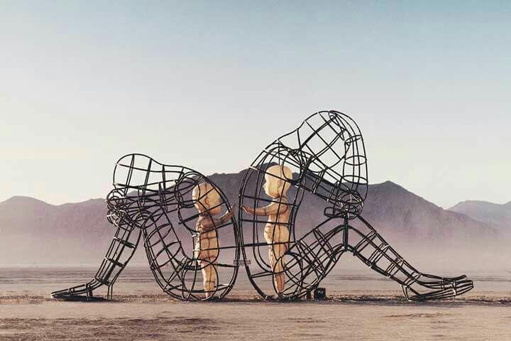 """escultura """"love"""""""