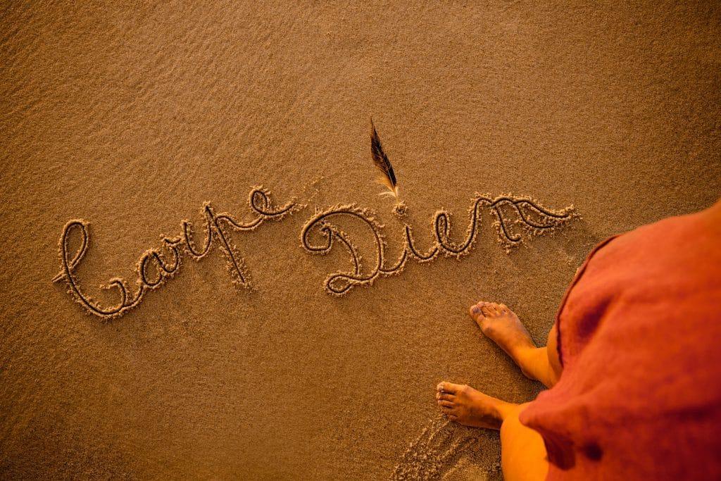 Carpe Diem na areia