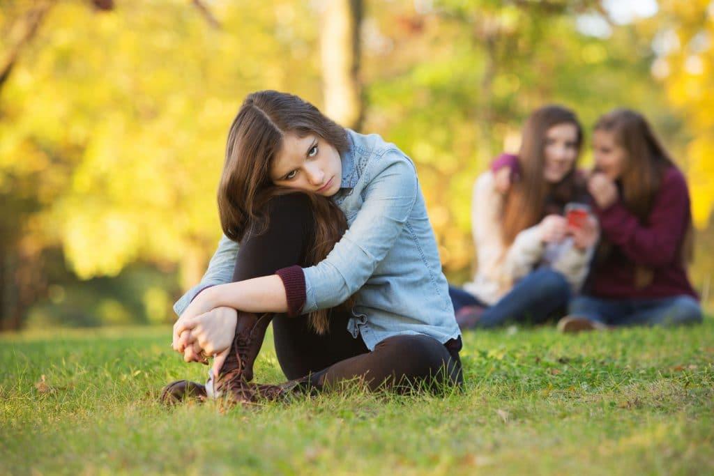 adolescente tímida