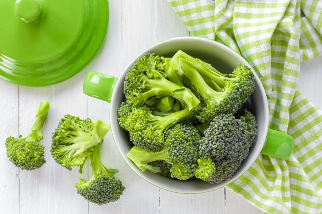 Brócolis Saudável Estilo Romano