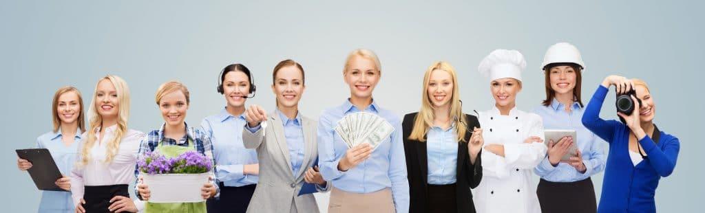 mulheres profissões