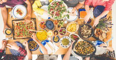 Ceia de ano novo para vegetarianos e veganos
