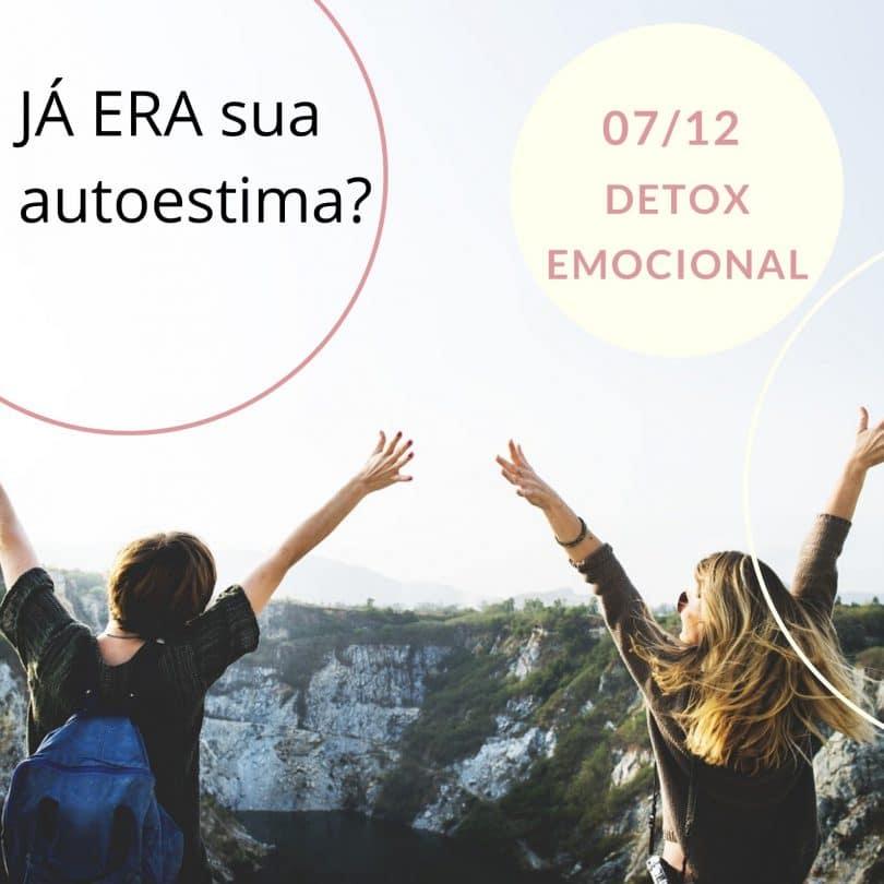 Flyer Detox Emocional