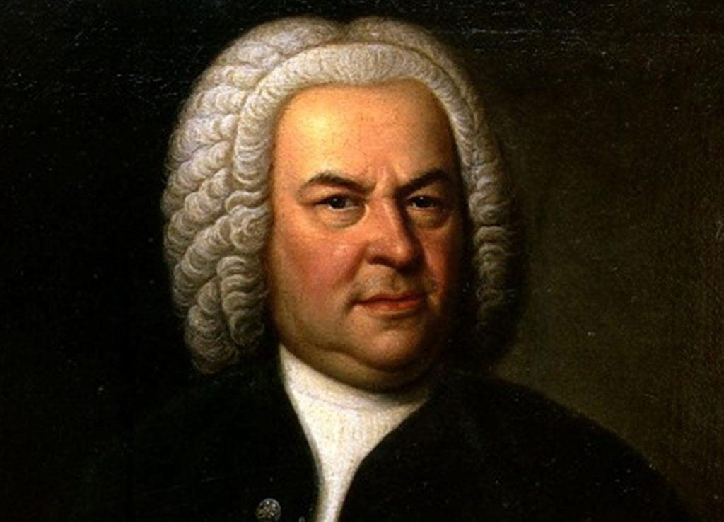 Pintura do músico e compositor Johann Sebastian Bach.