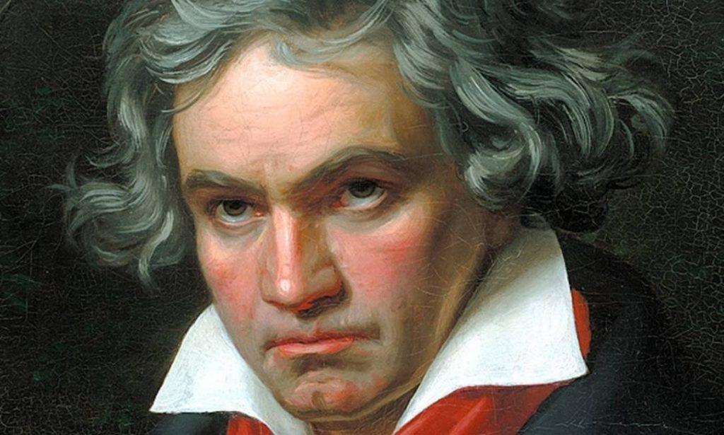 Pintura de Ludwig van Beethoven.