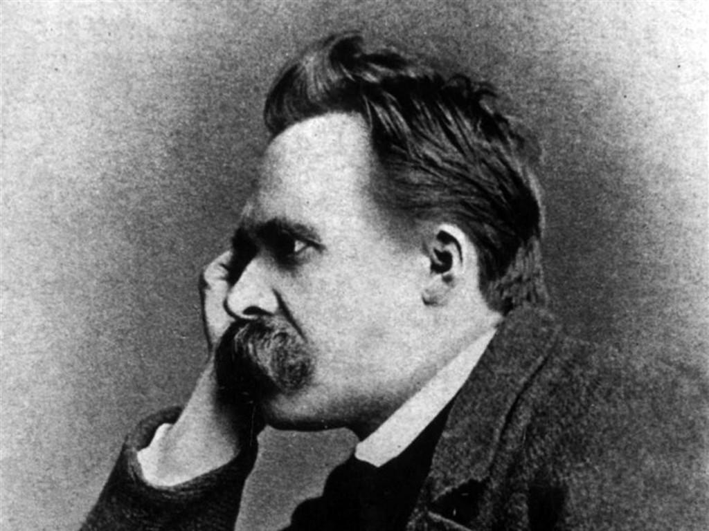 O filósofo Friedrich Nietzsche