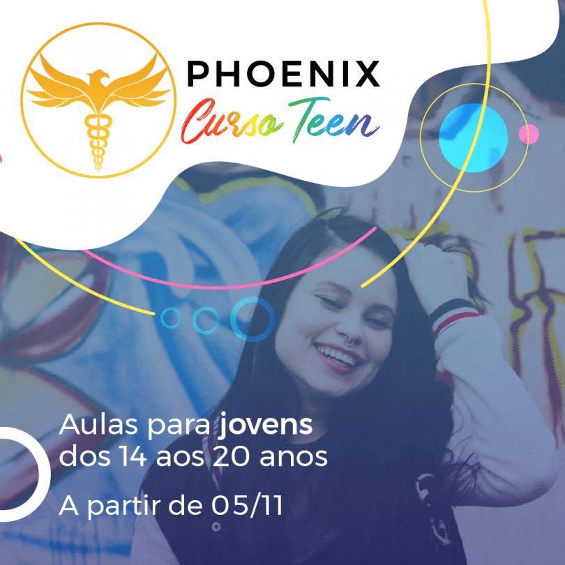Flyer Phoenix Curso Teen