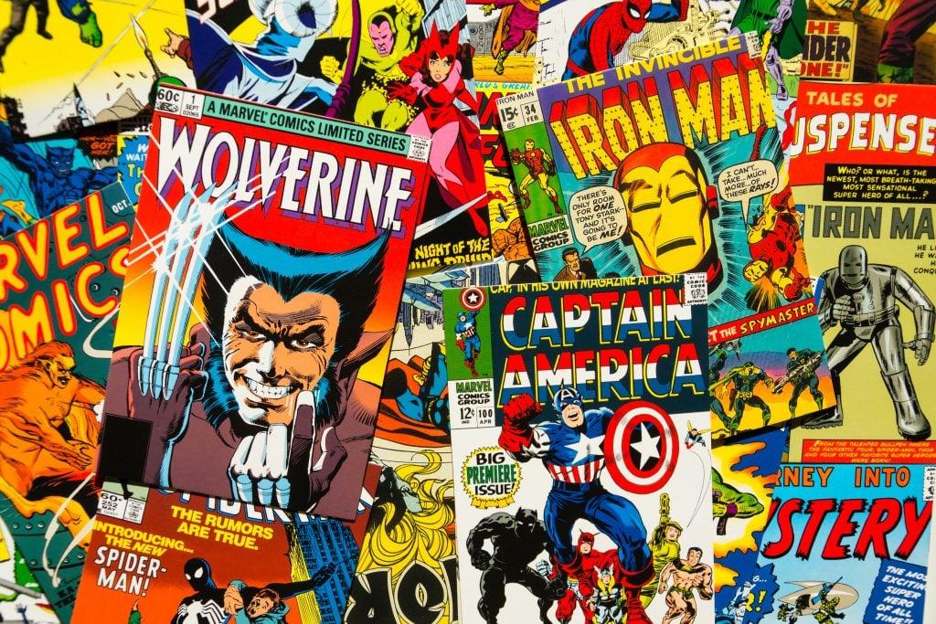 Várias capas de histórias em quadrinhos que fizeram grandes momentos no mundo.