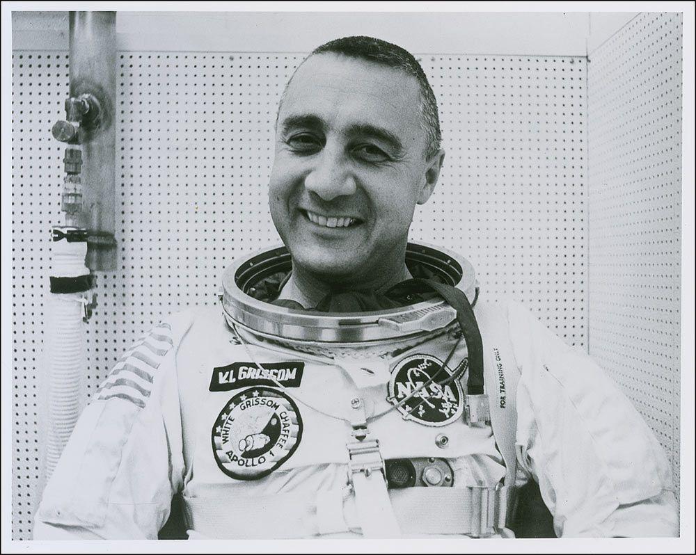 Foto de Gus Grissom, astronauta.