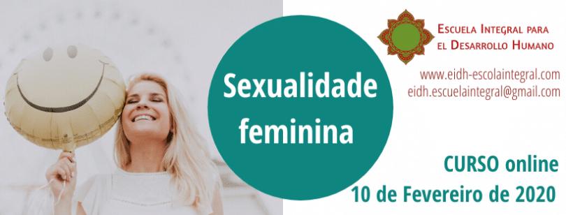 Flyer de Curso Sexualidade Feminina