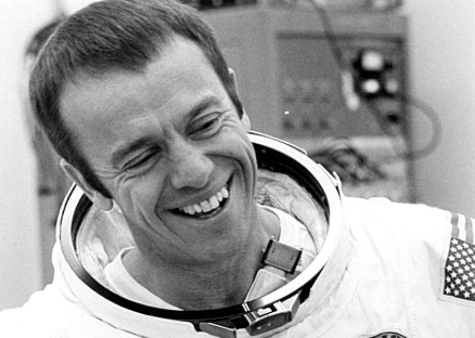 Foto de Alan Shepard, astronauta.