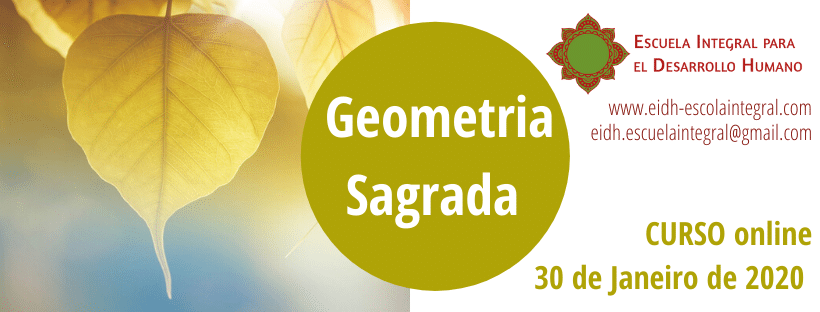 Flyer Curso Online Geometria Sagrada