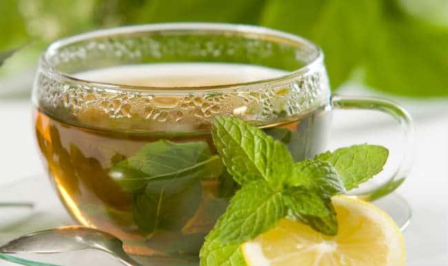 Chá de boldo.