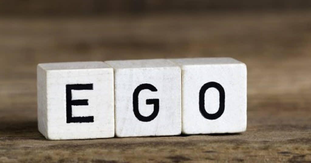 """Formação da palavra """"ego""""."""