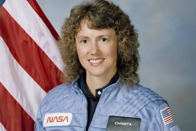 Foto de Christa Mcauliffe, astronauta.