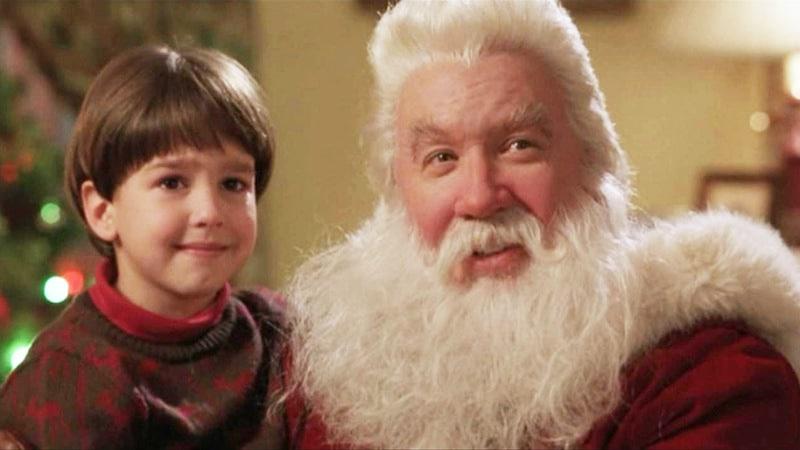"""Cena do filme """"Meu Papai É Noel""""."""