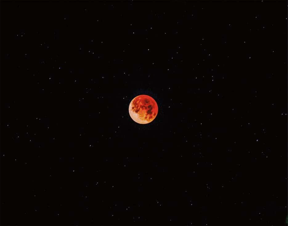 Eclipse lunar de trinta e um de janeiro de dois mil e dezoito, popularmente conhecido como Superlua Azul de Sangue