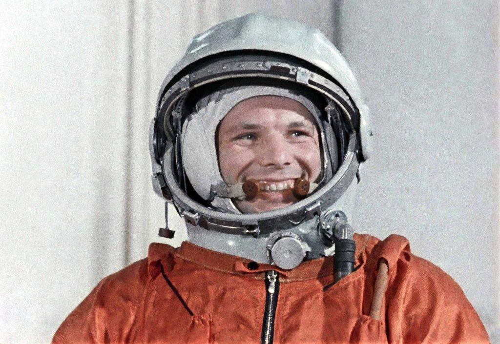 Foto de Yuri Gagarim, astronauta.