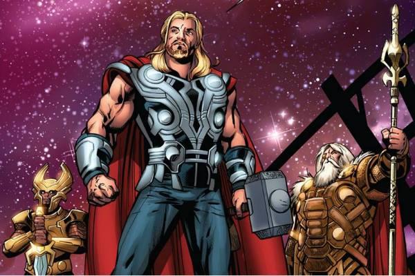 Desenho de Thor.