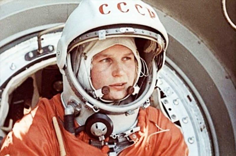 Foto de Valentina Tereshkova, astronauta.