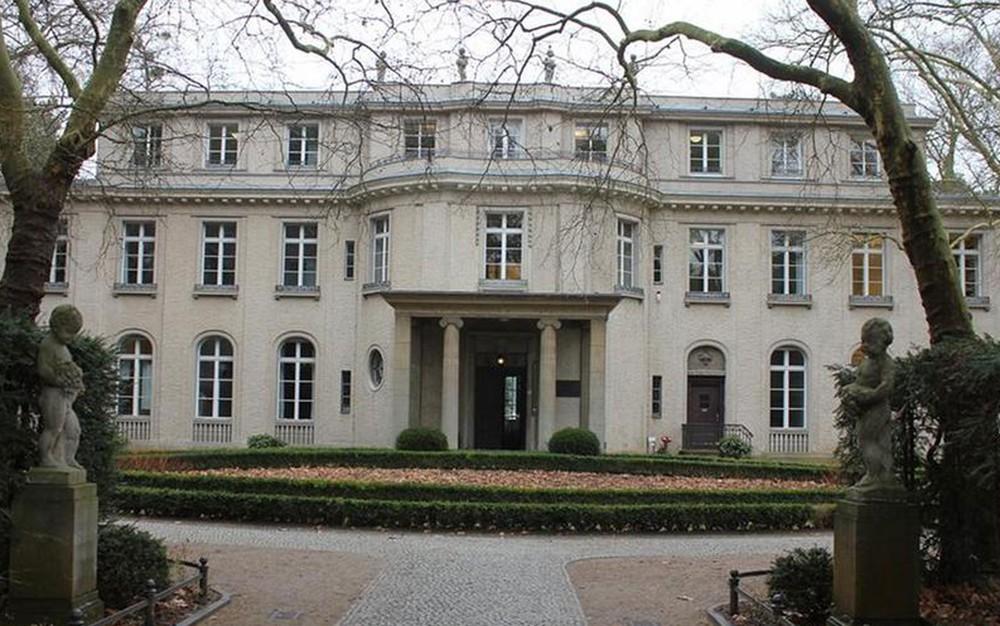 Casa da Conferência de Wannsee. Por: D.W./N. Wojcik